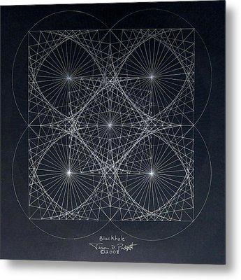 Plancks Blackhole Metal Print by Jason Padgett