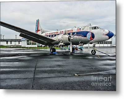 Plane On The Tarmac Metal Print by Paul Ward
