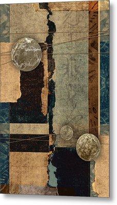 Planetary Shift #2 Metal Print by Carol Leigh