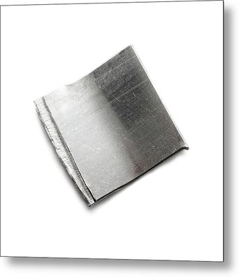 Platinum Metal Print by Science Photo Library