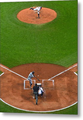 Play Ball Metal Print by Frozen in Time Fine Art Photography