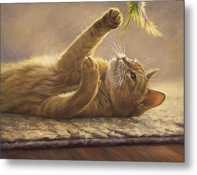 Playtime Metal Print by Lucie Bilodeau