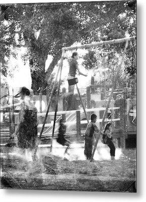 Playground Metal Print by Theresa Tahara