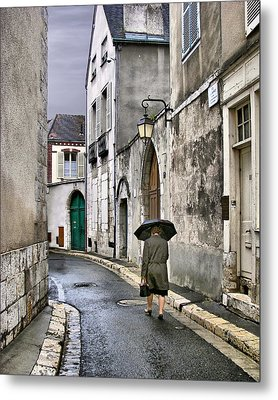 Pluie A Chartres - 1 Metal Print by Nikolyn McDonald