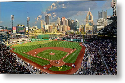 Pnc Park Pittsburgh Metal Print by Gary Cain