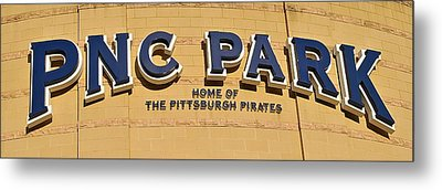Pnc Park Metal Print by Frozen in Time Fine Art Photography