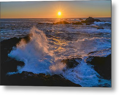 Point Lobos Sunset Metal Print by About Light  Images