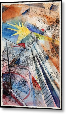 Point Of View Metal Print by Mary Benke