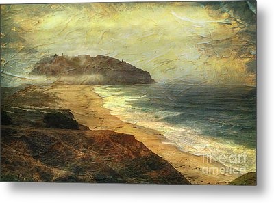 Point Sur Lighthouse Metal Print by Charlene Mitchell