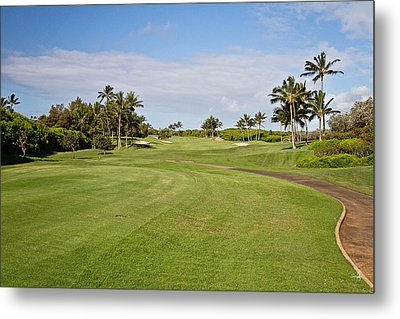 Poipu Bay #1 Metal Print by Scott Pellegrin