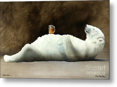 Polar Beer... Metal Print by Will Bullas