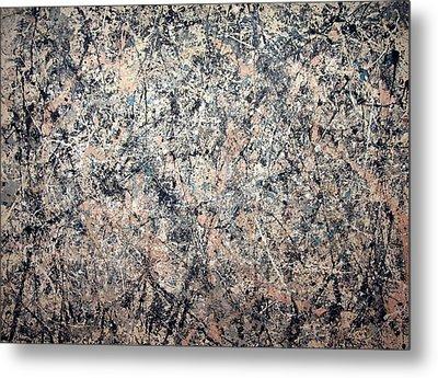 Pollock's Number 1 -- 1950 -- Lavender Mist Metal Print by Cora Wandel