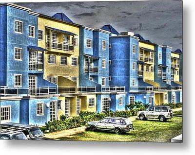 Polomar Apartments Metal Print by Gail Maloney