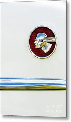 Pontiac Eight Chieftain Metal Print by Tim Gainey