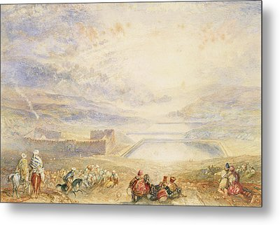 Pools Of Solomon Metal Print by Joseph Mallord William Turner