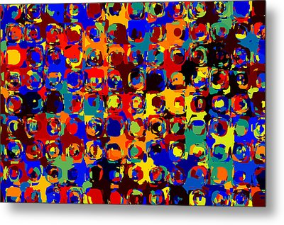 Pop Colors 14 Metal Print by Craig Gordon