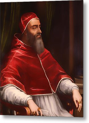 Pope Clement Vii Metal Print by Mountain Dreams