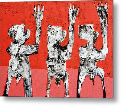 Populus No. 5 Metal Print by Mark M  Mellon