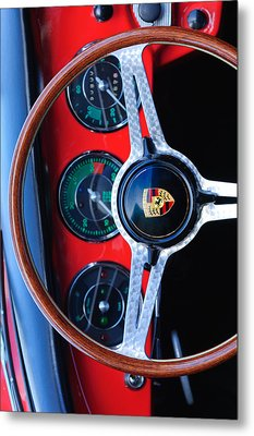 Porsche Custom Iphone Case 2 Metal Print by Jill Reger