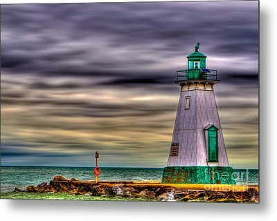 Port Dalhousie Lighthouse Metal Print by Jerry Fornarotto