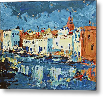 Port De Bizerte Metal Print by Brian Simons
