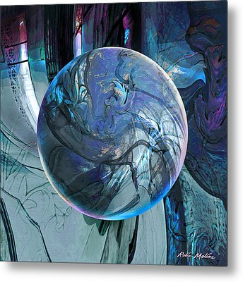 Portal To Divinity Metal Print by Robin Moline