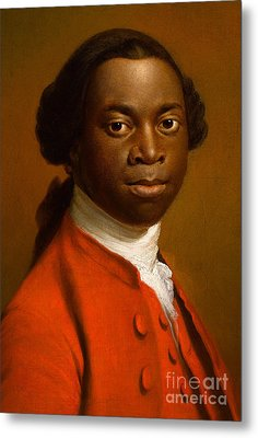 Portrait Of An African Metal Print by Allan Ramsay
