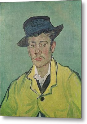 Portrait Of Armand Roulin Metal Print by Vincent Van Gogh