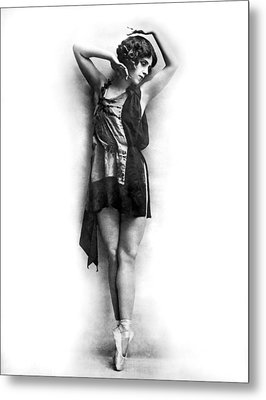 Portrait Of Dancer Agnes Boone Metal Print by Underwood Archives