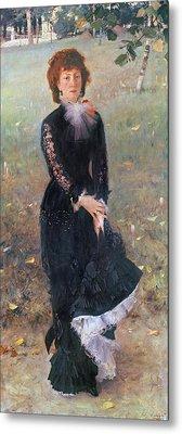 Portrait Of Madame Edouard Pailleron Metal Print by John Singer Sargent