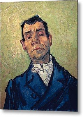 Portrait Of Man Metal Print by Vincent van Gogh
