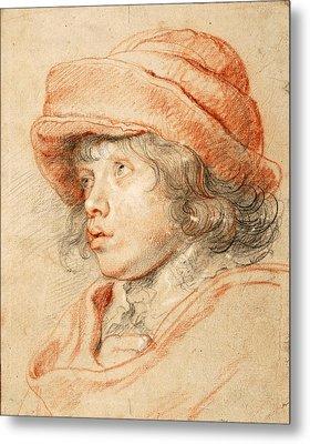Portrait Of Nicolaas Rubens Metal Print by Peter Paul Rubens