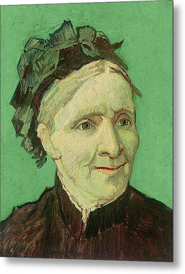 Portrait Of The Artist's Mother Metal Print by Vincent van Gogh