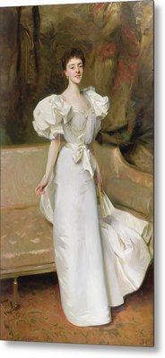 Portrait Of The Countess Of Clary Aldringen Metal Print by John Singer Sargent