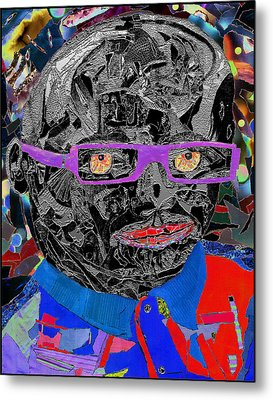 Portraiture Of Passion V3 Metal Print by Kenneth James