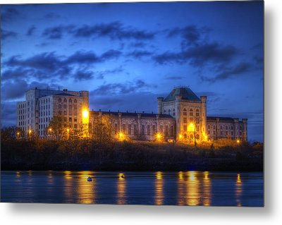 Portsmouth Naval Prison Metal Print by Eric Gendron