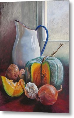 Potential Pumpkin Soup Metal Print by Lynda Robinson