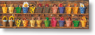 Potting Shed Metal Print by Anne Geddes