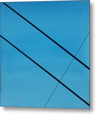 Power Lines 07 Metal Print by Ronda Stephens