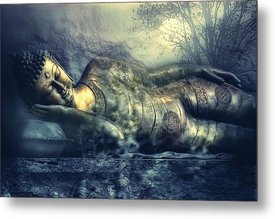 Power Of Silence Metal Print by Joachim G Pinkawa