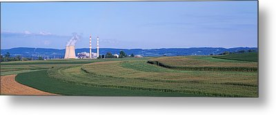 Power Plant Energy Metal Print by Panoramic Images