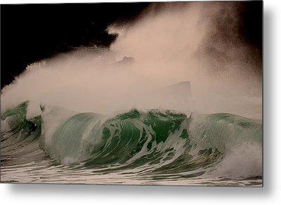 Power Wave Metal Print by Barbara Walsh