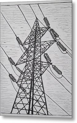 Power Metal Print by William Cauthern