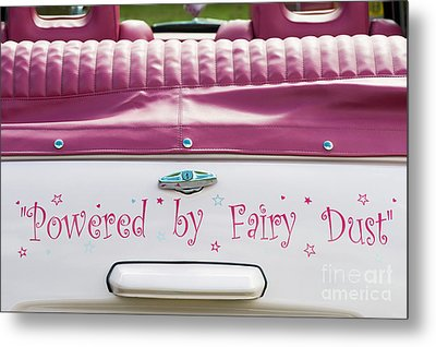 Powered By Fairy Dust Metal Print by Tim Gainey