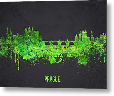 Prague Czech Republic Metal Print by Aged Pixel