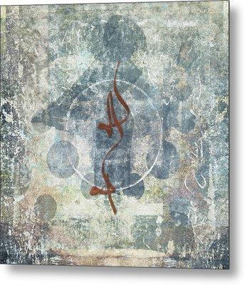 Prayer Flag 12 Metal Print by Carol Leigh
