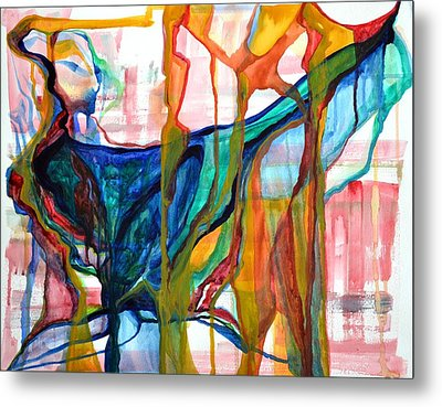 Precious Creation Of Nature Oh What Did Nurture Do Metal Print by Vivianne Maloney