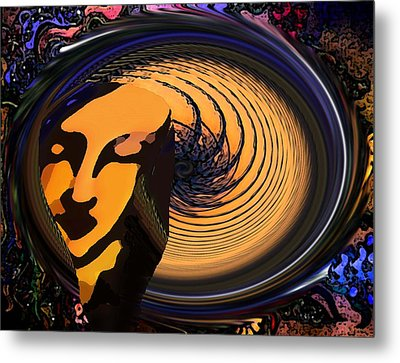 Preoccupied Metal Print by Bruce Iorio