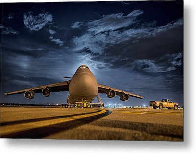 Prepped For Flight Metal Print by Mountain Dreams