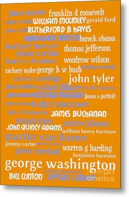 Presidents Of The United States 20130625p168 Metal Print by Wingsdomain Art and Photography